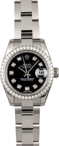 Rolex Datejust 179384 Diamond Dial & Bezel
