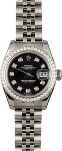 Used Rolex Lady-Datejust 179384 Diamonds