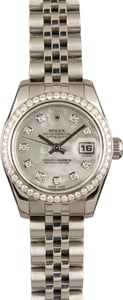 Pre-Owned Rolex Lady Datejust 179384 MOP Diamonds