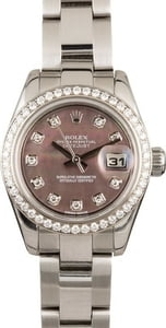 Rolex Lady-Datejust 179384 Diamonds