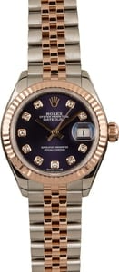 PreOwned Rolex Datejust 279171 Aubergine Diamond Dial