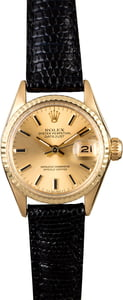 Women's Rolex Datejust 6517