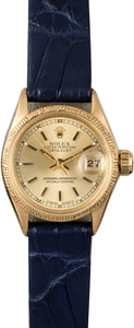 Vintage Rolex Ladies Datejust 6527