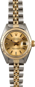 Rolex Lady Datejust 6916 Champagne Dial