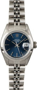 Rolex Datejust 69160 Blue Dial