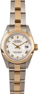 Rolex Datejust 69163 Two Tone Oyster
