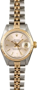 Rolex Datejust 69173 Silver Index Dial