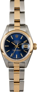 Rolex Lady Datejust 69163 Blue Dial