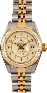 Ladies Rolex Datejust 69163 Champage