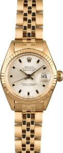Vintage Rolex Ladies Datejust 6917 Honeycomb