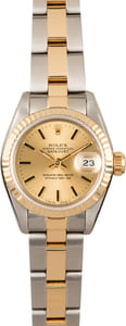 Rolex Datejust 69173 Two Tone Oyster Perpetual