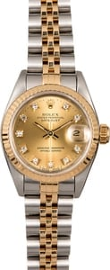 Rolex Datejust 69173 Diamond Dial