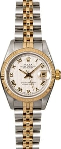 Rolex Lady Datejust 69173 Ivory Pyramid Dial