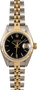 Rolex Lady Datejust 69173 Black Dial