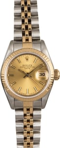 Rolex Datejust 69173 Two Tone Jubilee Band