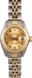 Rolex Datejust 69173 Two Tone Oval Link