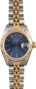 PreOwned Rolex Lady Datejust 69173 Two Tone Jubilee