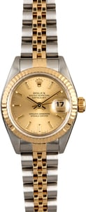 Certified Rolex Datejust 69173 Two Tone Jubilee Band