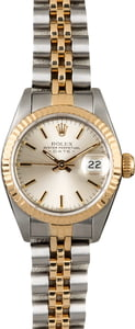 Women's Rolex Datejust 69173 Silver Dial