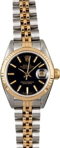 Rolex Lady Datejust 69173 Black Index Dial