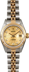 Rolex Datejust 69173 Diamond Jubilee Dial