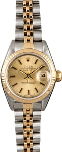 Ladies Rolex Datejust 69173 Two Tone Jubilee Band