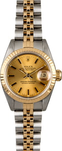 Women's Rolex Datejust 69173 Two Tone Watch