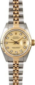 Used Rolex Datejust 69173 Diamond Dial