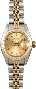 Rolex Datejust 69173 Two Tone Watch