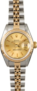 Rolex Datejust 69173 Two Tone Ladies Watch