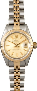 PreOwned Rolex Datejust 69173 Tapestry Dial