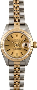 Used Rolex Datejust 69173 Two Tone Jubilee