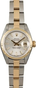 Used Rolex Datejust 69173 Two Tone Oyster