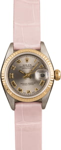 PreOwned Rolex Ladies Datejust 69173 Slate Roman Dial T