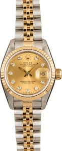Women's Rolex Datejust 69173
