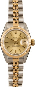 Pre-Owned Rolex Datejust 69173 Champagne