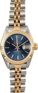 Rolex Lady Datejust 69173 Blue Dial