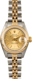 Rolex Lady Datejust 69173 Champagne