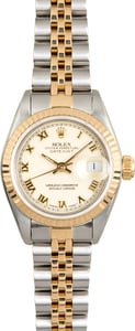 Rolex Lady-Datejust 69173 Ivory Pyramid