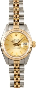 Rolex Lady-Datejust 69173 Two-Tone 100% Authentic