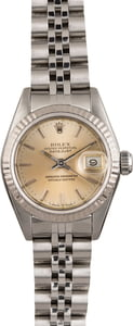 Rolex Datejust 69174 Silver Index Dial T