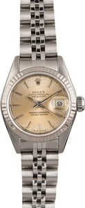 Rolex Datejust 69174 Silver Index Dial