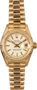Ladies Rolex Datejust 69178 Jubilee Dial