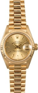 Rolex Lady Datejust 69178 Champagne Dial