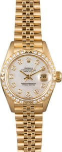 Rolex Ladies Datejust 69178 Diamond Bezel
