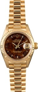Rolex Lady Datejust 69178 Wood Dial