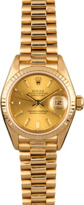 Rolex Lady Datejust 69178 Champagne