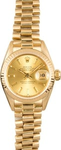 Rolex Lady Datejust 69178 Presidential