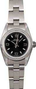 Women's Rolex Datejust 76030 Black Arabic