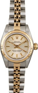 Rolex Oyster Perpetual 76193 Silver Dial